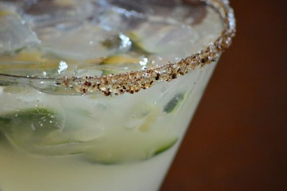Disney World Restaurants - DISNEY SPRINGS - Frontera Cocina:  Margarita with black ant salt. / Click to read this great article from the TouringPlans Blog.  Learn how you can get a free TouringPlans subscription from http://www.buildabettermousetrip.com/free-touring-plans