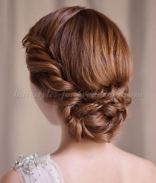 Chignon Low Chignons Low Bun Hairstyles For Brides Wedding Updos Chignon Hairstyles Wedding ...