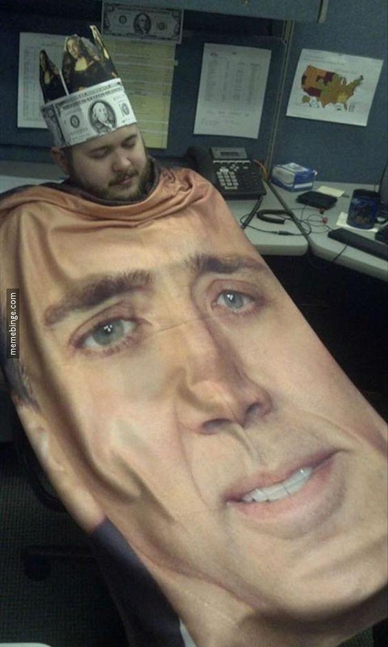 Nicolas Cage's biggest fan
