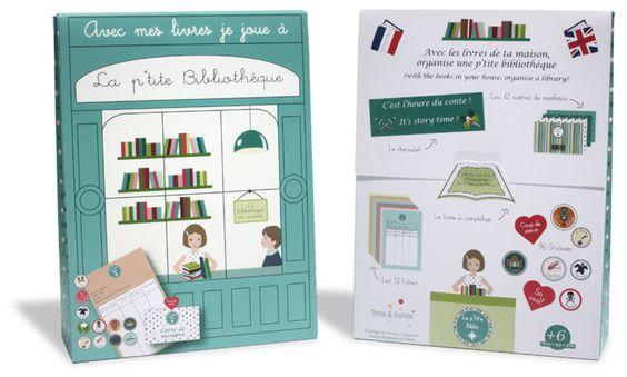 La petite bibliothèque _ Etui recto verso