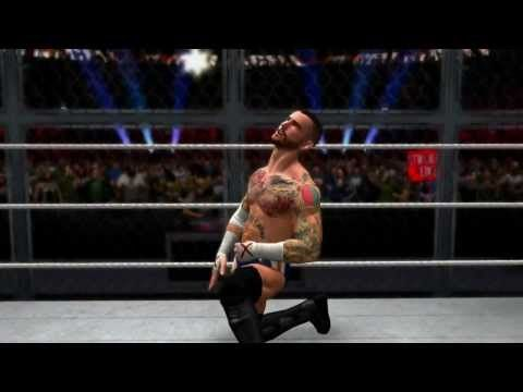 #WWE2K14 Hell in a Cell Match Simulation: CM Punk vs. Ryback and Paul Heyman