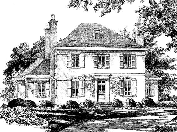 Eplans english cottage house plan vernon hill from the for Eplans cottage house plan