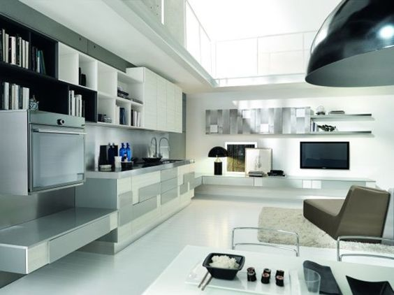 mobile tv lube : ... versatile. http://www.leonardo.tv/cucina/lube-salone-del-mobile-2012