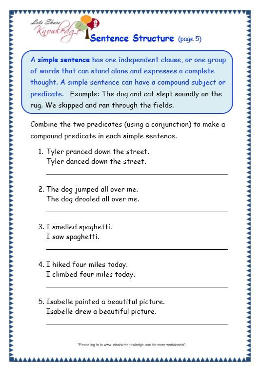 11+ Lovely writing topic sentences worksheets info