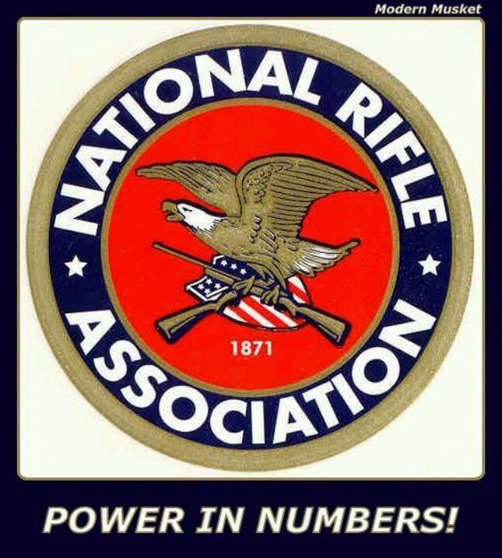 NRA...member and proud of it! Firm believer in my 2nd amendment rights!!!!!