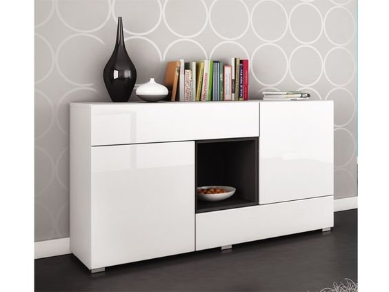 Mueble buffet moderno blanco opcion alternativa deco for Mueble buffet moderno