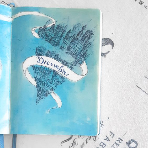 Bullet Journal La Passe Miroir - Lisly's world