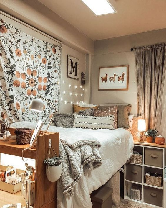 Stylish Apartments And College Rooms Dorm Ideas And Bedroom