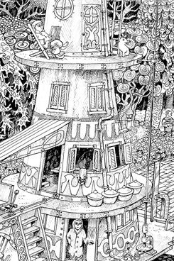 discworld coloring pages | Wildergorn, colour in posters, colouring posters, coloring ...