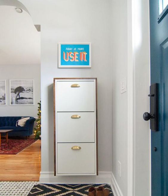 Storage Hacks Ikea Shoe And Entryway On Pinterest
