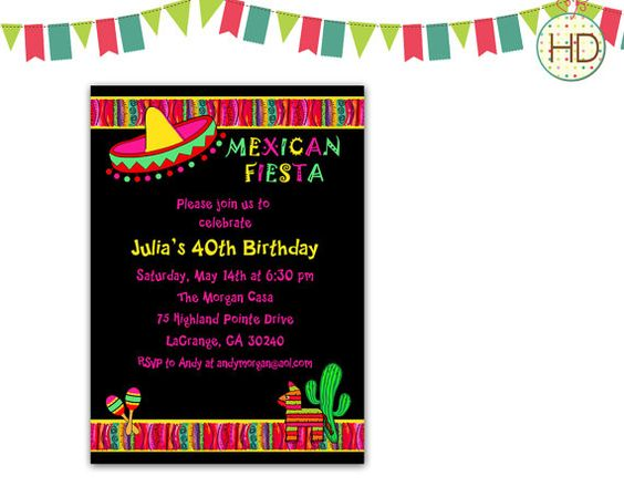 Birthday Party Invitations Online Surprise