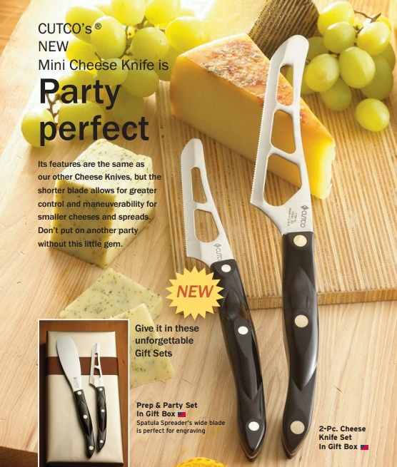 If you LOVE cheese then you will LOVE these cheese knives :)