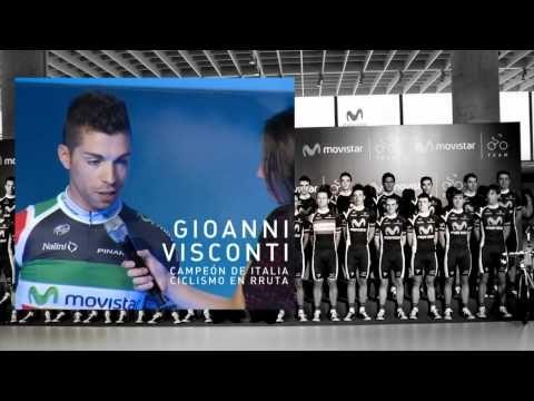 Presentación del Movistar Team 2012