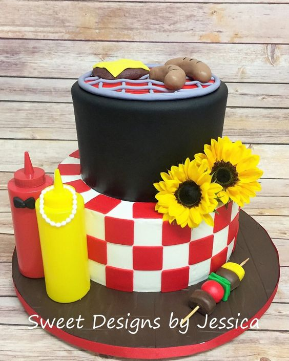 Pinterest the world s catalogue of ideas for Baby shower bbq decoration ideas