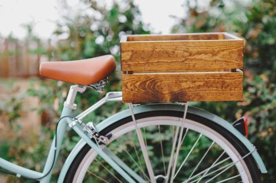 Types Of Bikes In 2020 City Bike Basket Wood Bike Rear Bike Basket