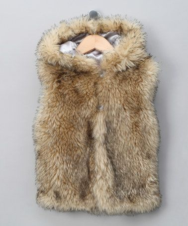 Firetrap Cream Faux Fur Gilet - Toddler & Girls by Little Miss on #zulilyUK today!