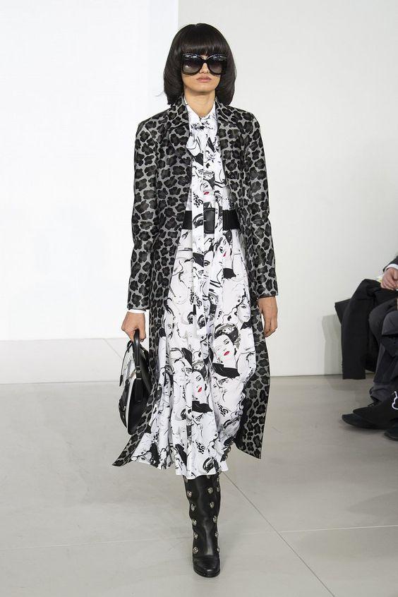 Michael Kors Fall-Winter 2018-2019 #NFW #fashion #clothes #fashionweek