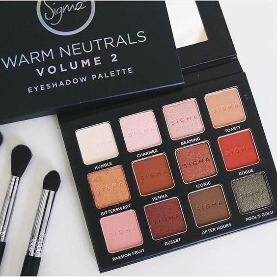 Warm neutrals volume 2 palette