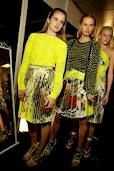 Neon Yellow at Christopher Kane