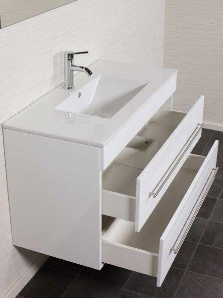 Unterschrank Infinity 1000 Weiss Hochgl Ohne Waschbecken Badezimmer Unterschrank Badezimmer Einrichtung Waschbecken