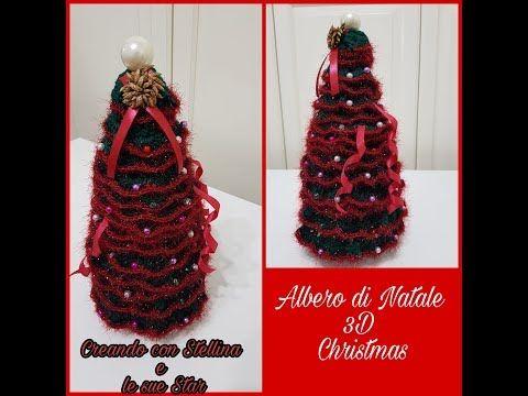 Albero Di Natale Youtube.Uncinetto Albero Di Natale 3d Christmas Youtube Hair Styles Beauty Dreadlocks