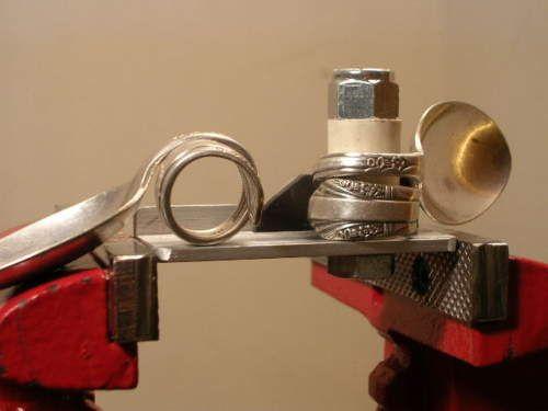 Silverware Ring Bender