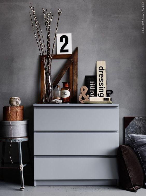 La Maison d'Anna G.: 6 ideas for grey walls