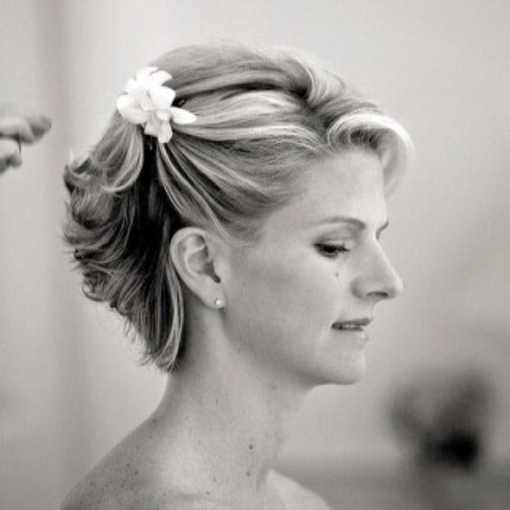 Mother Of The Bride Hair For Short Updos Perhaps With A