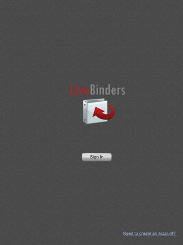 Itunes App for Live Binders