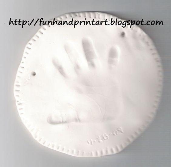 Keepsake Clay Hand Impression - Fun Handprint Art