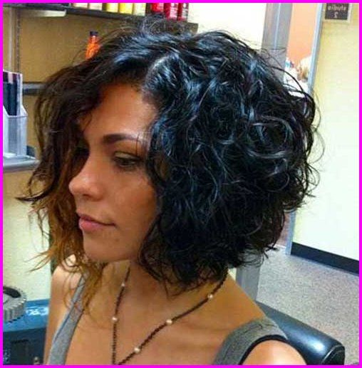 For Curly Hair Round Face 2019 Bob Haircut Curly Haircuts For