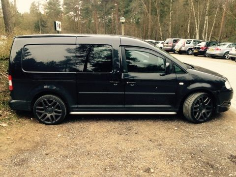 details about vw caddy maxi sportline black. Black Bedroom Furniture Sets. Home Design Ideas