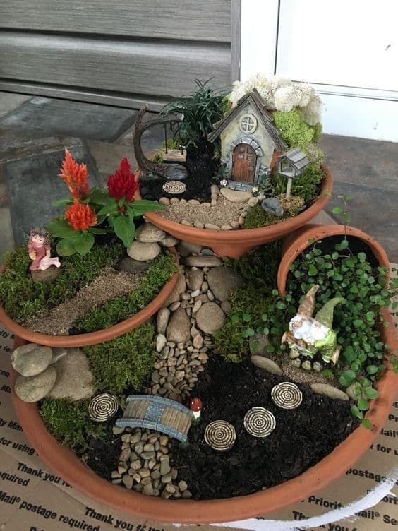 Diy Fairy Garden Ideas Hip Hoo Rae In 2020 Indoor Fairy