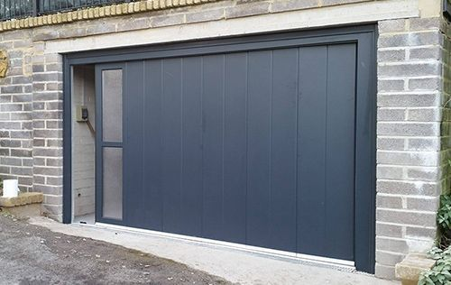 Side Sliding Garage Doors Around Corner Doors Pcs Garage Doors