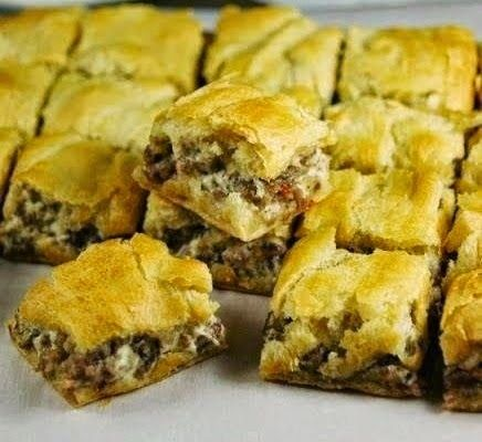 These are truly one of the best appetizers or quick bites that your ever going to make and enjoy in your life. I used Jimmy Dean Hot Sausa...