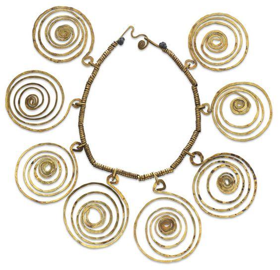 Alexander Calder, spiral necklace