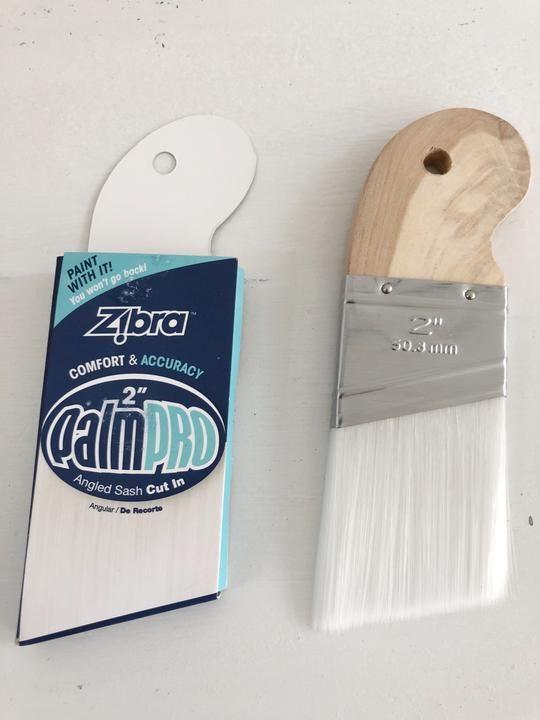 Zibra Palm Pro Brush Jami Ray Vintage Brush Clay Paint Milk Paint