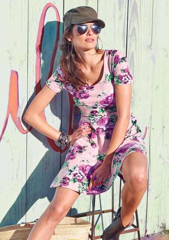 Aniston Jerseykleid, erhältlich auf www.ackermann.ch #Fashion #Style