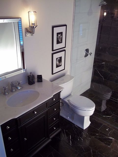 I Like When The Floor Tile Is The Same Throughout The Bathroom Ishomestars Bathroom Cost Bathroom Remodel Cost Small Bathroom Remodel