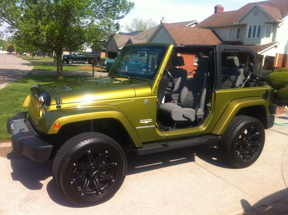 Rescue Green Jeep >> Rescue Green 08 Sahara On 20 S Jeep Wrangler Pinterest Jeeps