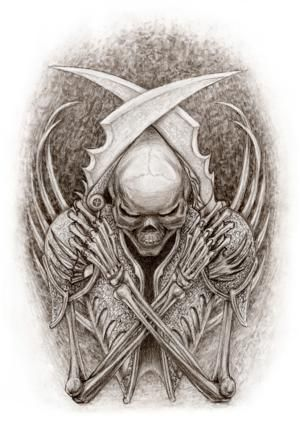Angel of Death Tattoo