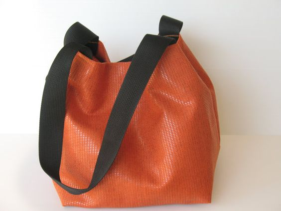 tangerine shoulder bag orange bag orange by LIGONaccessories, $69.00