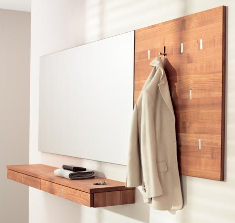 Wall mounted shelf vanities and entryway on pinterest for Entry wall table