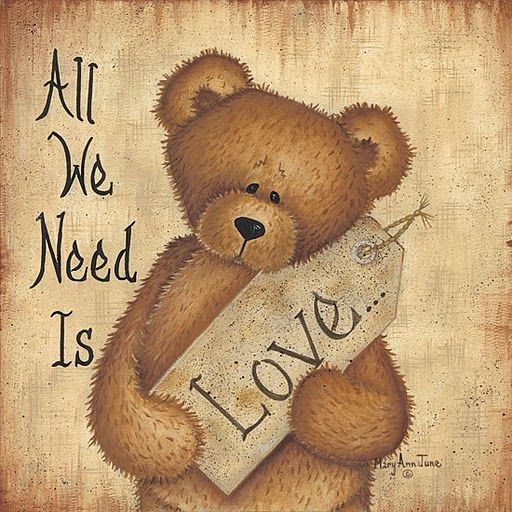 Love Quotes With Teddy Bear Images: Urso Love Bear Love