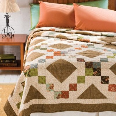 GO! Stepping Stones Quilt Pattern