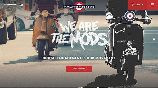 Metaverse Mod Squad In 2020 Mod Squad Web Design Trends Metaverse