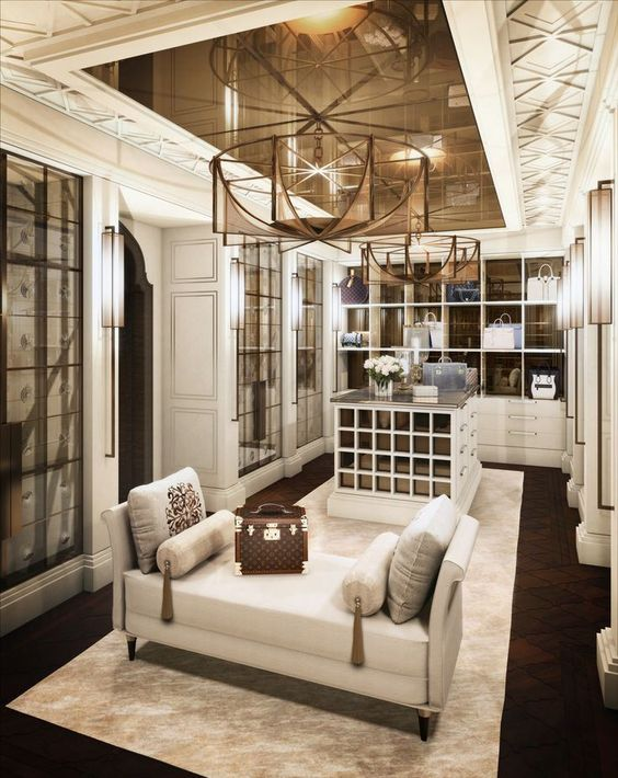 Square feet walk in and dream closets on pinterest for Walk in closet square footage