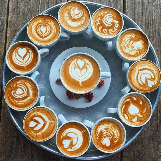 Coffee up! #latteart #coffee:
