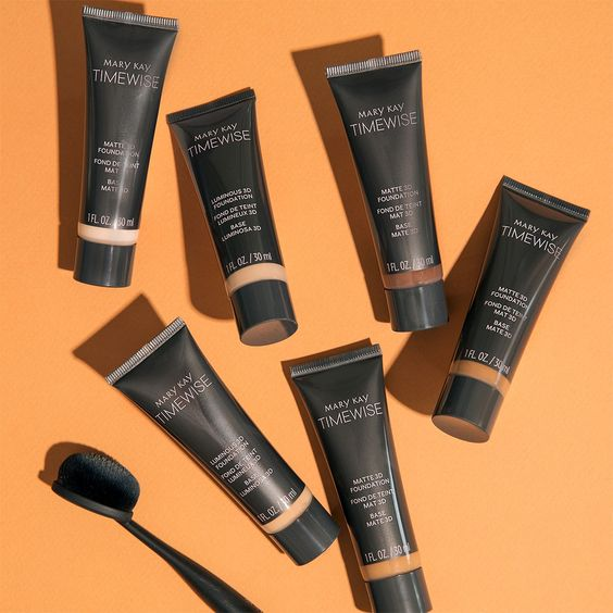 Bases Timewise 3D Mary Kay