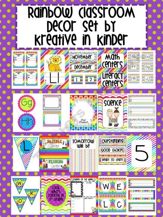 Rainbow Classroom Decor ~ Pinterest the world s catalog of ideas